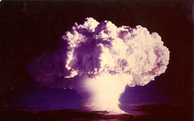 Ivy Mike - USA esimese vesinikpommi katsetus.