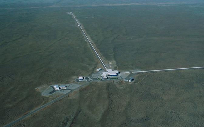 LIGO observatoorium linnulennult.