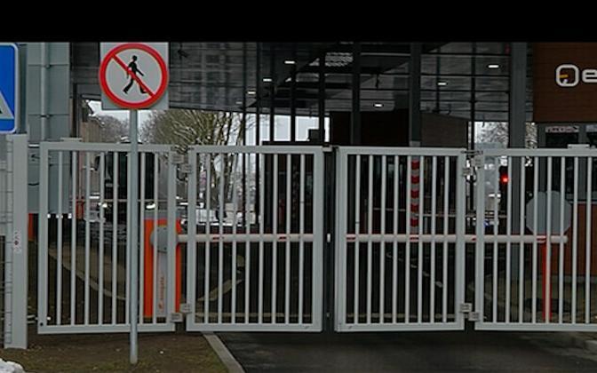 Narva border crossing point.