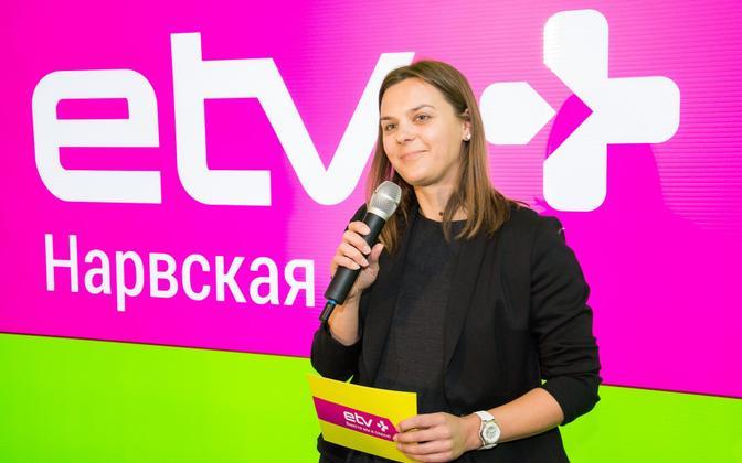 ETV+ peatoimetaja Darja Saar