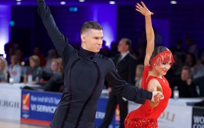 Konstantin Gorodilov ja Dominica Bergmannova