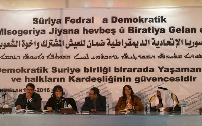 Kurdide esindajad Rmeilanis