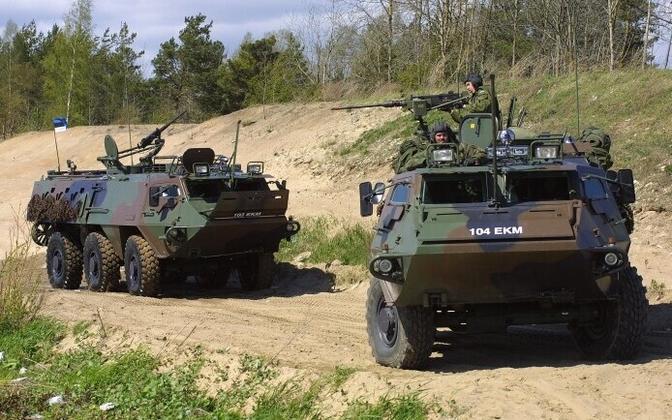 Eesti kaitseväe Pasi soomukid