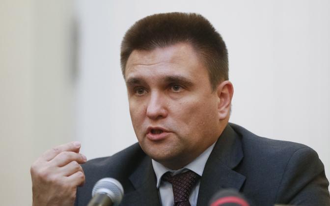 Ukraina välisminister Pavlo Klimkin.