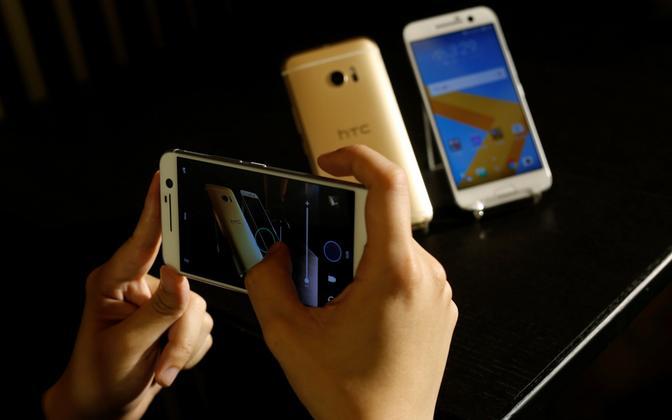 Androidil põhinevad nutitelefonid.