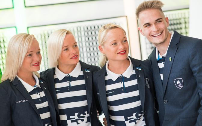 The Luik sisters will be the first set of triplets to compete in the same event at the Olympic Games.