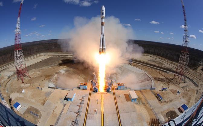 Raketistart Vostotšnõi kosmodroomil 28. aprillil.