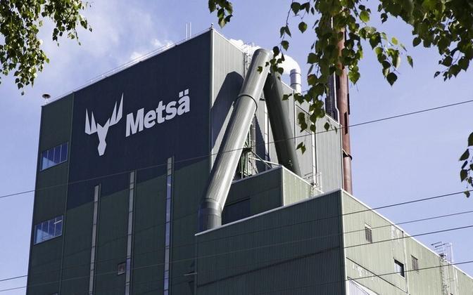 Metsä Wood factory in Finland.