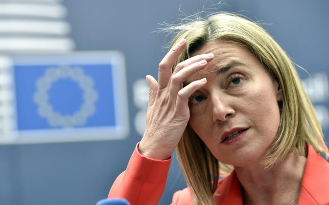 The EU's high representative for foreign affairs, Federica Mogherini, will speak at the 2017 Lennart Meri Conference.