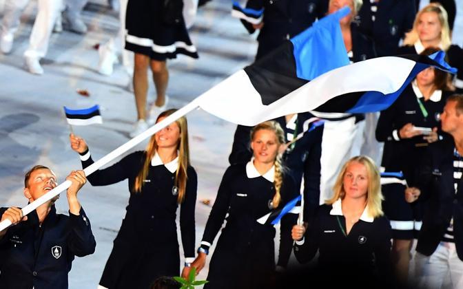 Eesti sportlased Rio olümpial