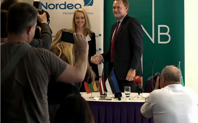 Nordea ja DnB Balti panganduse juhid teatasid augustis kahe panga ühendamisest.