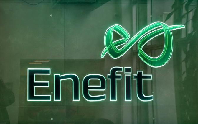 Enefit logo.