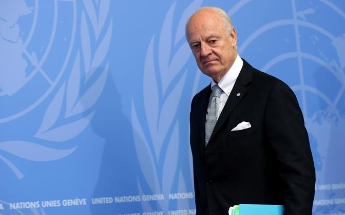 ÜRO Süüria erisaadik Staffan de Mistura.