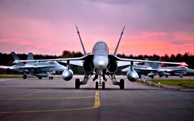Soome õhuväe suurõppus Ruska.