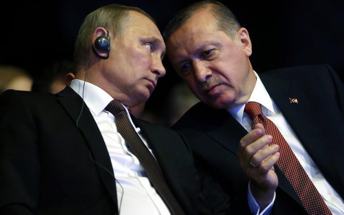 Putin ja Erdogan 10. oktoobril Istanbulis.