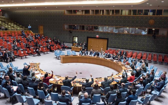 ÜRO julgeolekunõukogu 31. oktoobril.