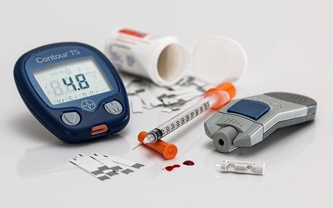 Оборудование для определения сахара в крови. Иллюстративная фотография.