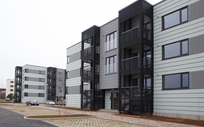 Дома постройки Nordecon в Таммелинне.