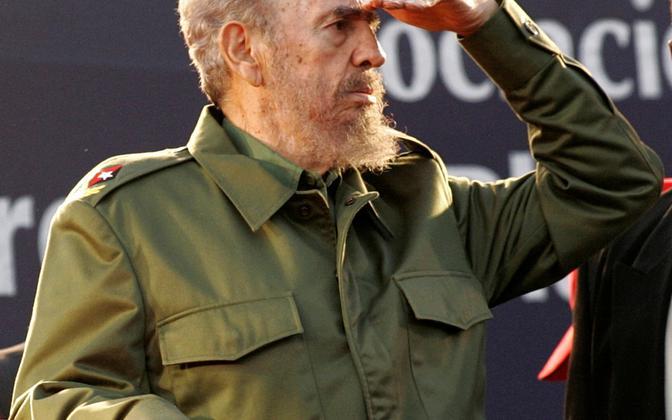 Fidel Castro 2006. aasta juulis.