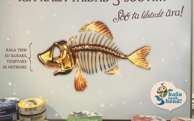 Eestis kui kalariigis on kalasöömine siiski tagasihoidlikul tasemel.
