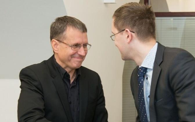 Тоомас Витсут и Яак Мадисон будут руководить комиссией по делам ЕС.