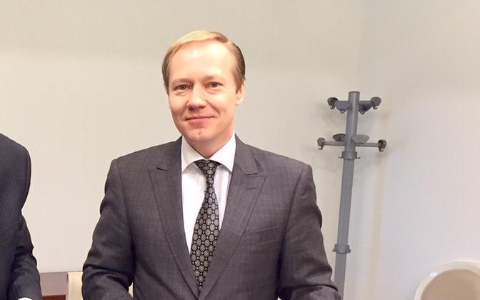 The Estonian foreign ministry's political director, Paul Teesalu.