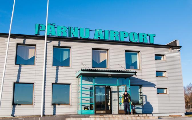 Pärnu Airport. Nov. 29, 2016.