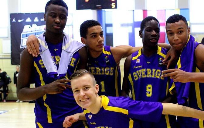Rootsi U-16 koondise noorkorvpallurid (pilt on illustreeriv)