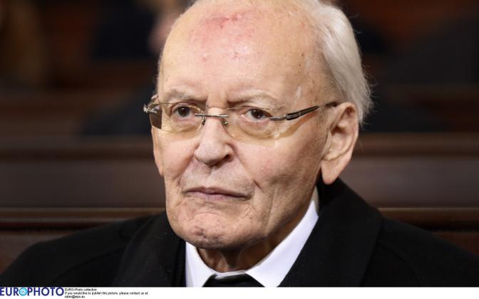Saksamaa endine president Roman Herzog.