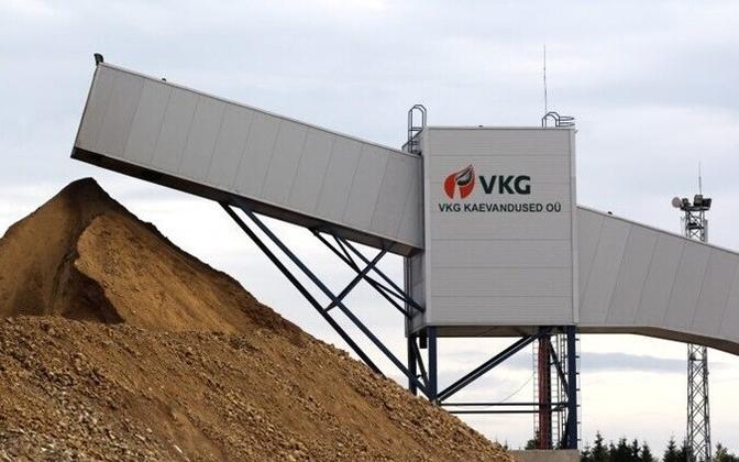 A VKG mine in Ida-Viru County.