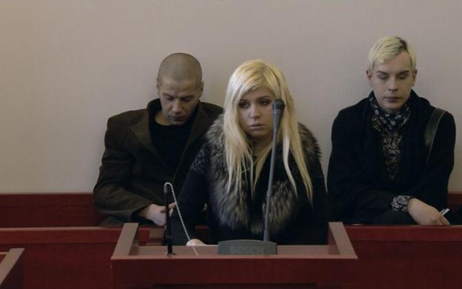 """Kaader Sandra Jõgeva dokumentaalist """"Armastus …""""."""