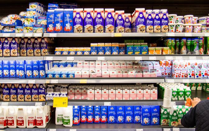 piima hind tõusis