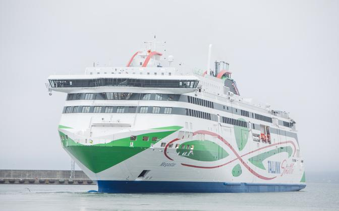 The Megastar, shipper Tallink's new gas-powered high-speed ferry.