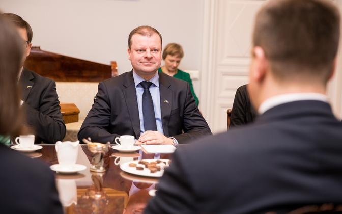 Leedu peaminister Saulius Skvernelis.