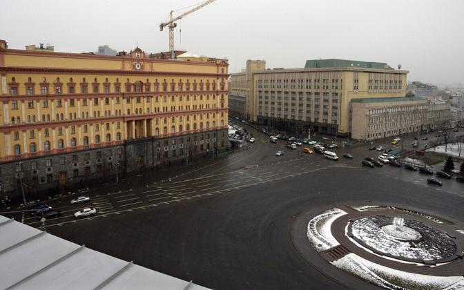 FSB hoone Moskvas.