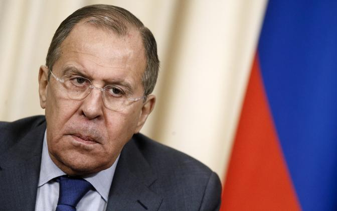 Russian Minister of Foreign Affairs Sergey Lavrov.