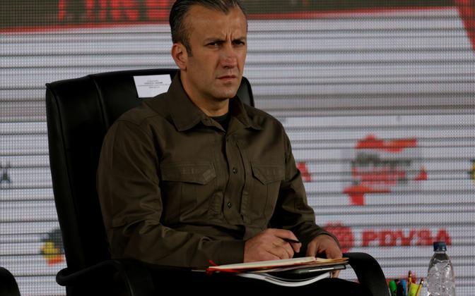 Venezuela asepresident Tareck El Aissami.