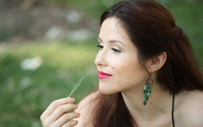 Актриса Екатерина Новоселова.
