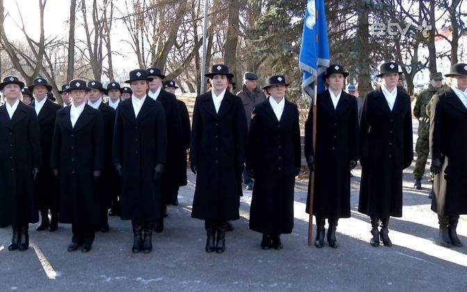 Members of the Naiskodukaitse.