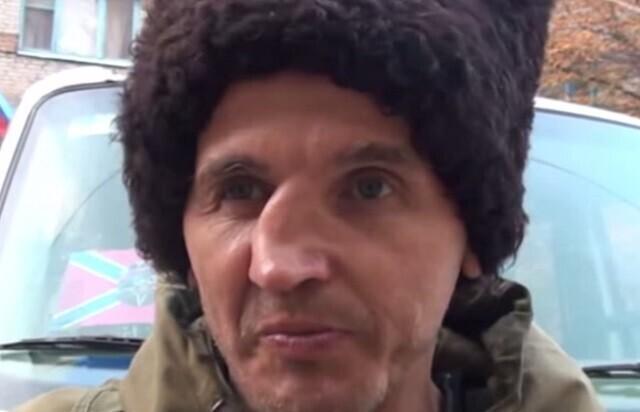 Luganski Kremli-meelsete sõjapealik Pastun.