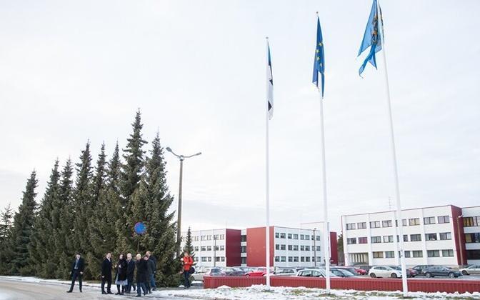 The academy's campus in Tallinn.