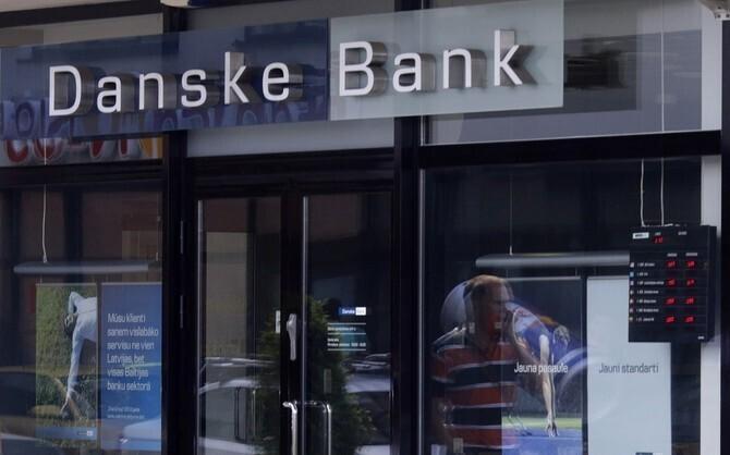 Danske Bank branch office in Latvia.