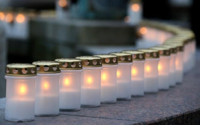 Thousands of candles are lit every year across Estonia to remember those deported by the Soviet authorities.