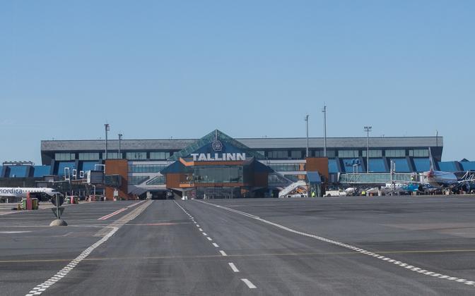 Tallinn Airport.