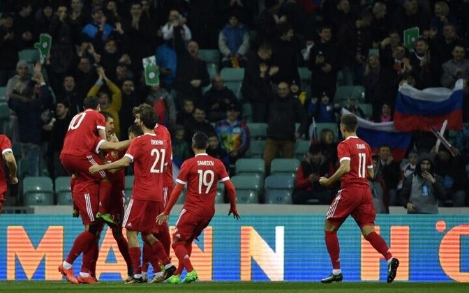 Сборная России вырвала ничью у национальной команды Бельгии.