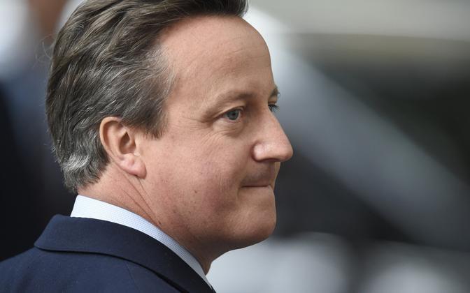 Endine Briti peaminister David Cameron.