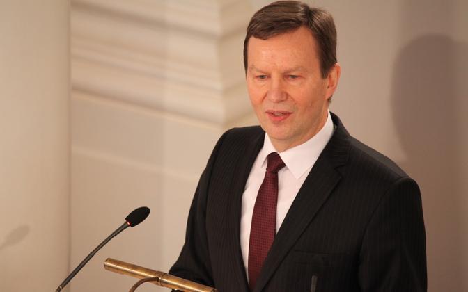 Tartu ülikooli rektor Volli Kalm suri ootamatult 23. detsembril 2017.