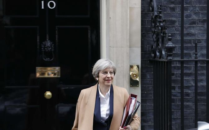 Suurbritannia peaminister Theresa May.