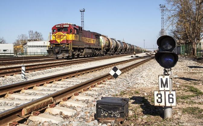 EVR Cargo freight train.