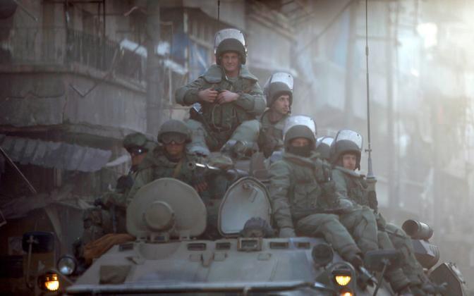Vene sõdurid veebruaris Aleppos.